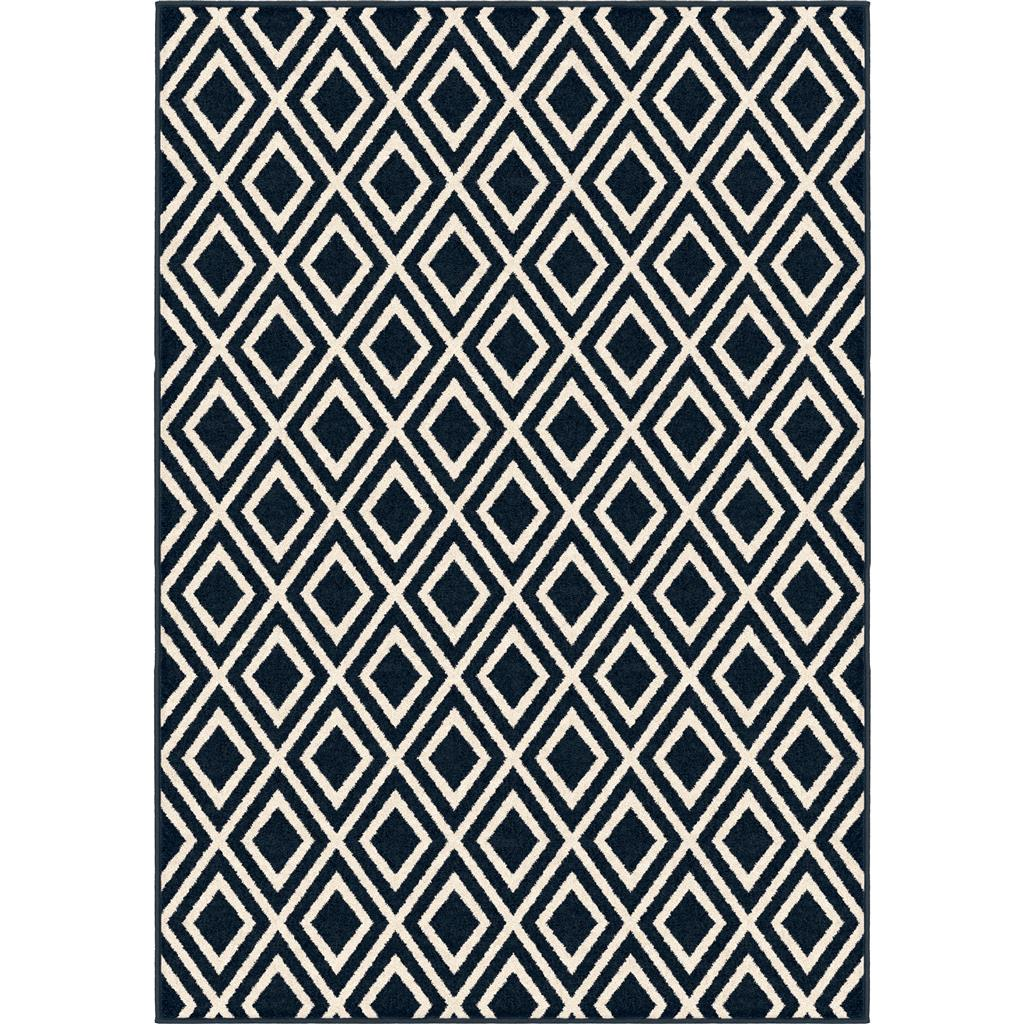 "410068 TRELLIS CATALINA BLUE 5'2"" x 7'6"""
