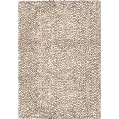 "8300 5X8 COTTON TAIL SOLID BEIGE 5'3"" x 7'6"""
