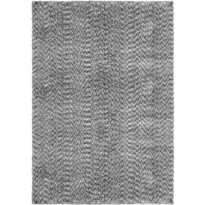 "8301 5X8 COTTON TAIL SOLID GRAY 5'3"" x 7'6"""