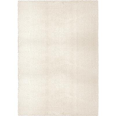 "8302 5X8 COTTON TAIL SOLID WHITE 5'3"" x 7'6"""