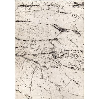 "9303 7X10 MARBLE HILL SOFT WHITE 6'7"" x 9'6"""