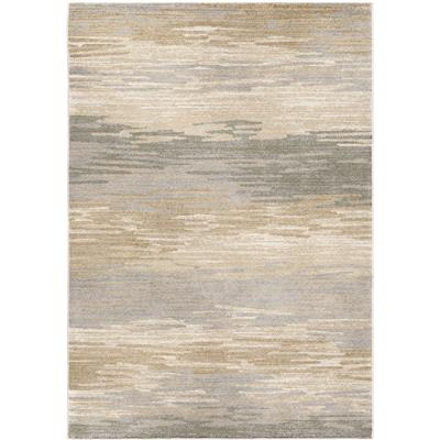 "9004 5X8 DISTANT MEADOW BAY BEIGE 5'3"" x 7'6"" Riverstone"