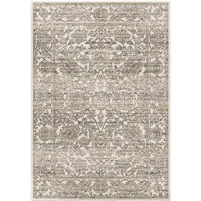 "9018 5X8 PERSIAN TONAL LIGHT GRAY 5'3"" x 7'6"" Riverstone"